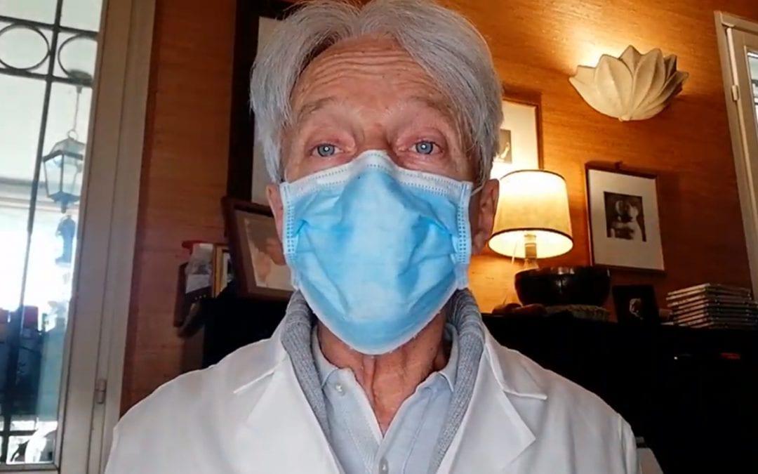 Dott Luigi Torchio - distanziamento sociale guanti e mascherine