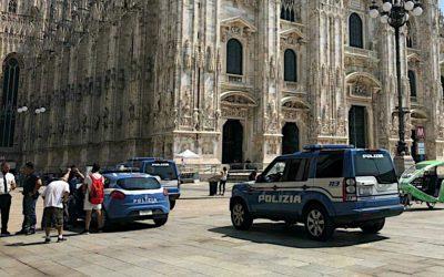 Attimi di panico nel Duomo di Milano